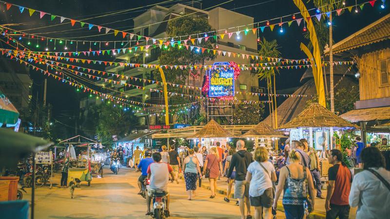 Cambodia tour Siem Reap night