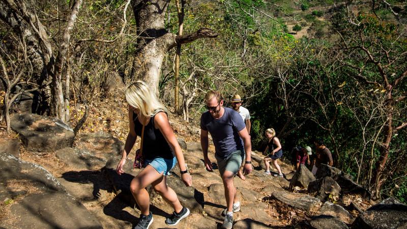 Suchitoto El Salvador hiking