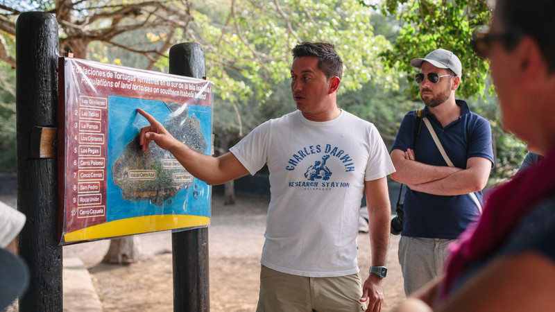 sustainable travel galapagos islands local leader