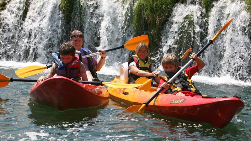 great family vacations kayak croatia