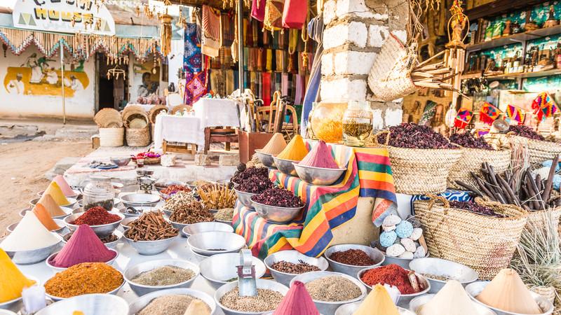 Egypt trip spice market