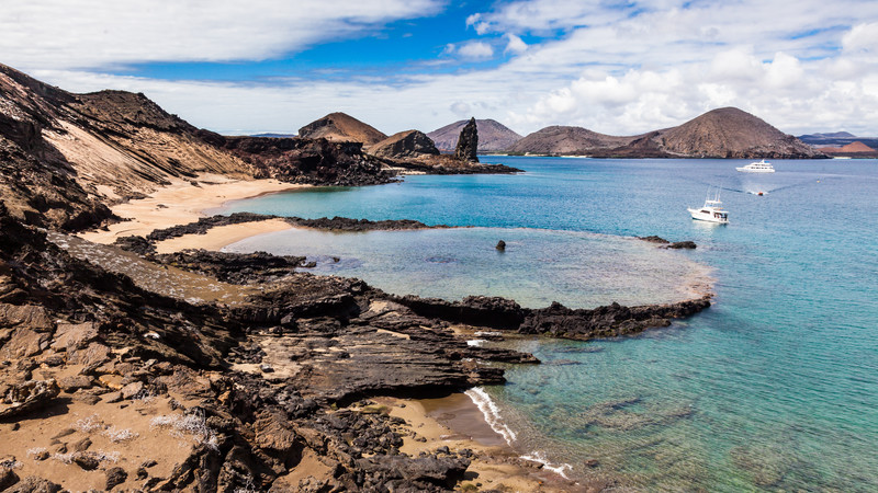 sustainable travel galapagos islands rock pools