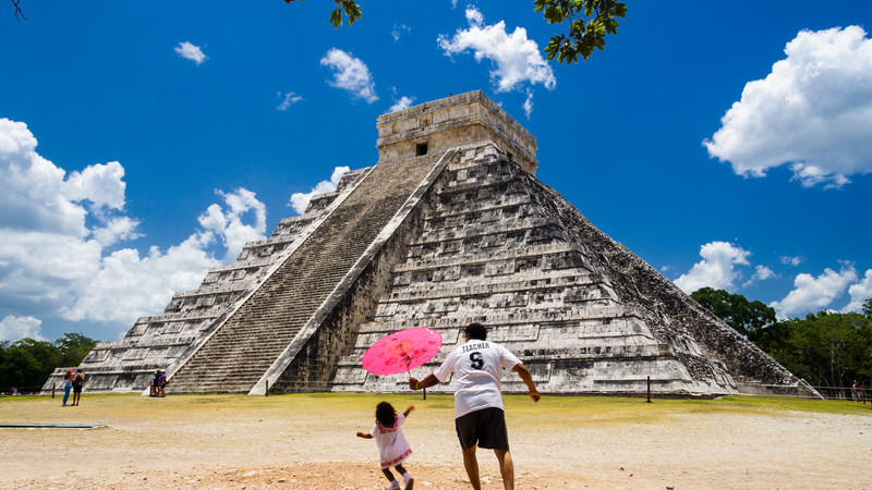 great family vacations mexico ruins