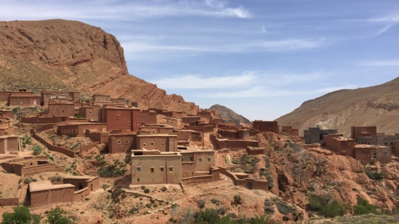 A kasbah in Morocco