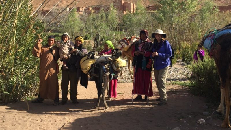 Linda and the Berber nomads