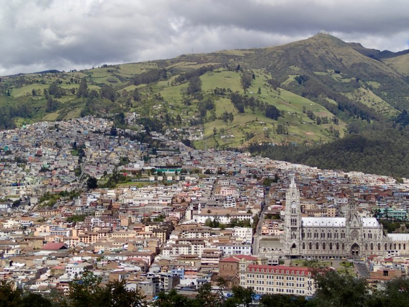 Ecuador one week guide Quito Itchimbia