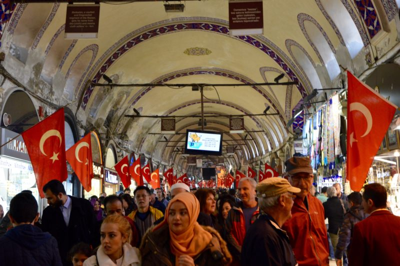 The Grand Bazaar what to do in Istanbul