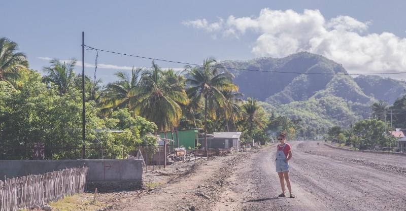 On the road in Timor-Leste