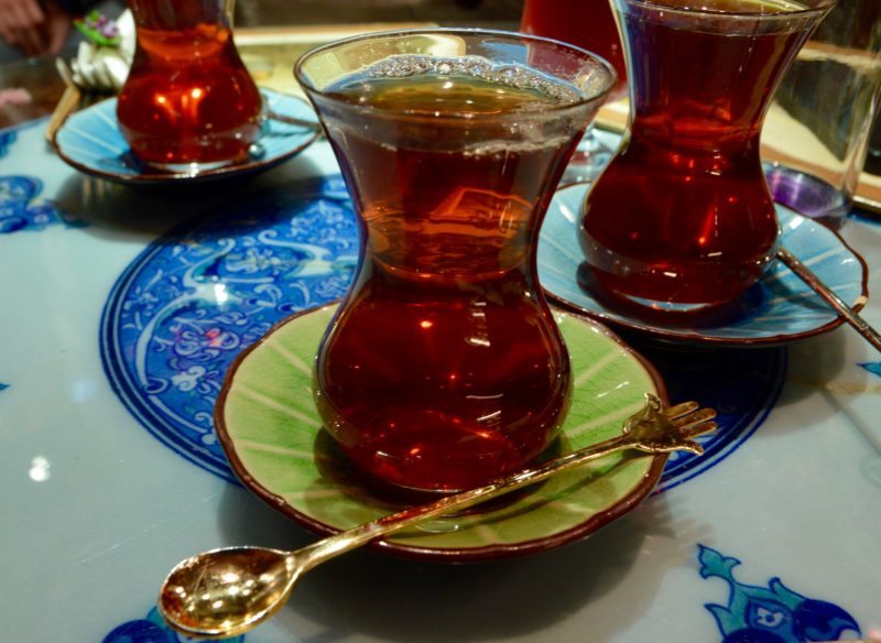 Turkish tea what to do in Istanbul