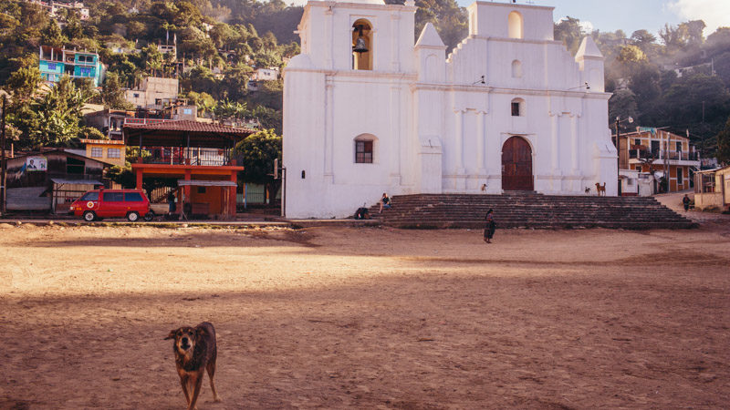 San Jorge la Laguna town square