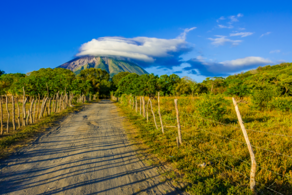 Volcano views of Ometepe Island, Nicaragua