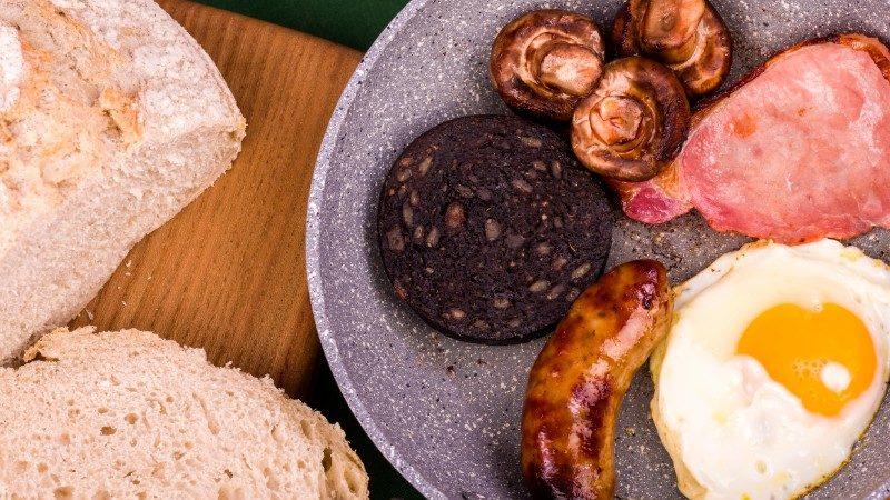Ulster fry breakfast
