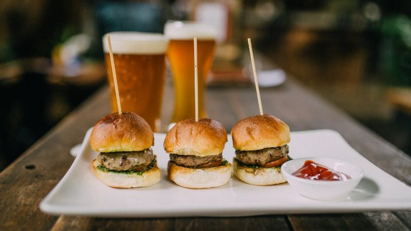 Burgers and beers at Botanico, Phnom Penh