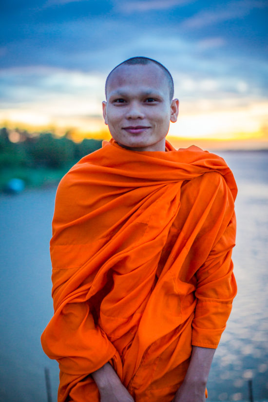 What to do in Cambodia monk