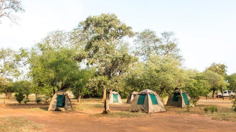 Campsite in Kruger National Park