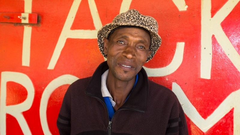Man in Lesotho, Africa