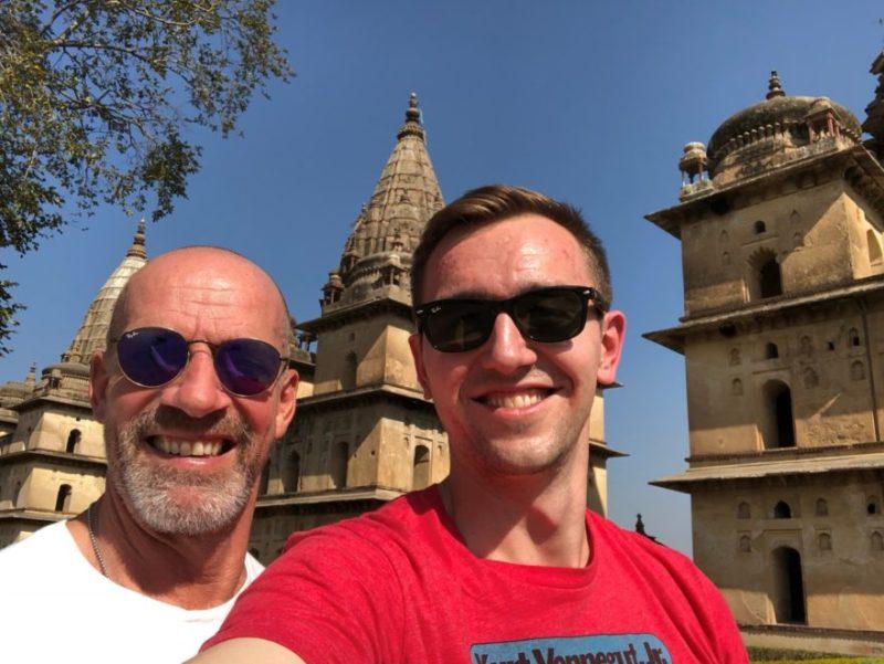 India Nepal selfie