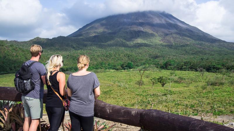 solo travel Costa Rica Arenal Volcano