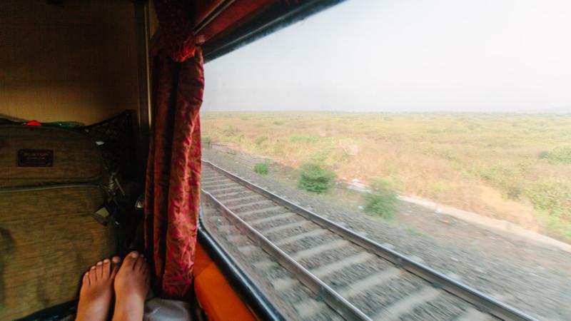 Overnight train India