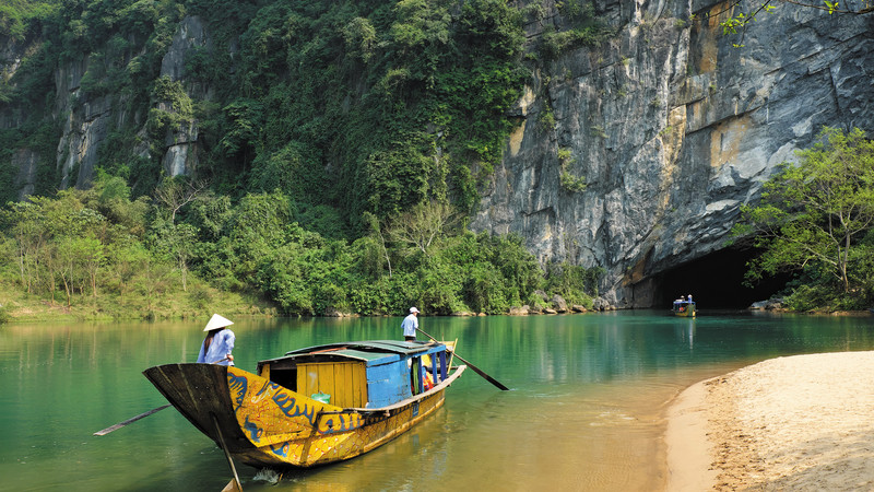 beautiful places in Vietnam Phong Nha