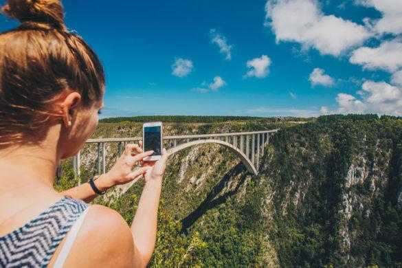 Tall bridge in South Africa