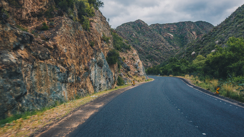 Road to Oudtshoorn, South Africa
