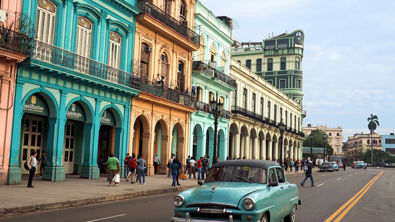 places to visit in cuba havana street