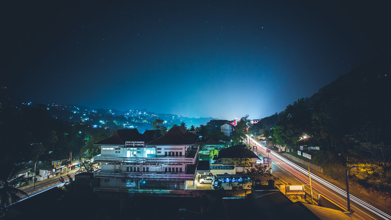Kandy by night