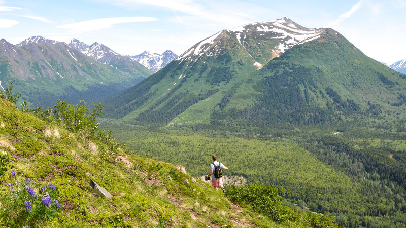 Hiking in Alaska
