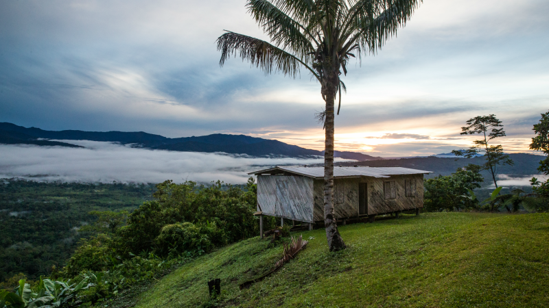Hill views over the Kokoda Track, Papua New Guinea