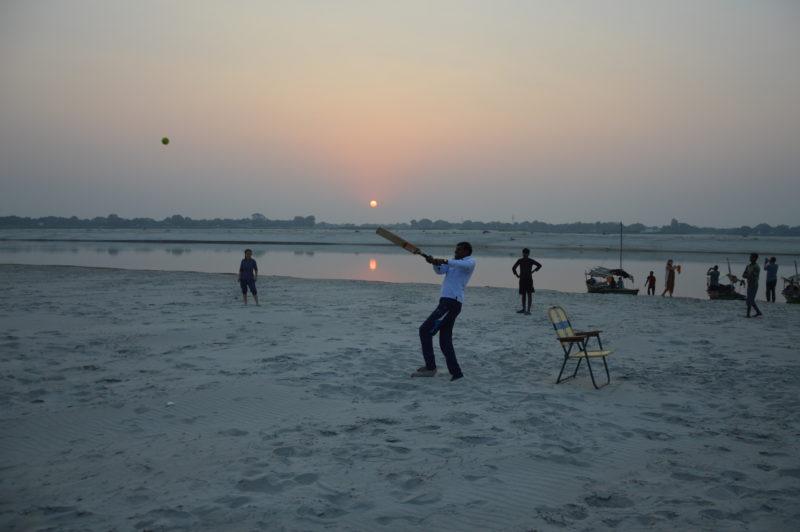 cricket Ganges India