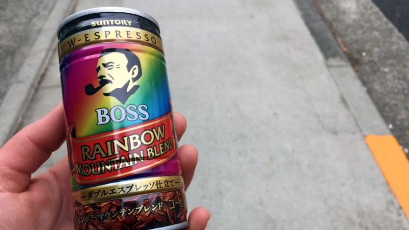Coffee in a can in Japan