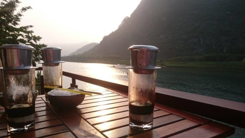 beautiful places in Vietnam coffee