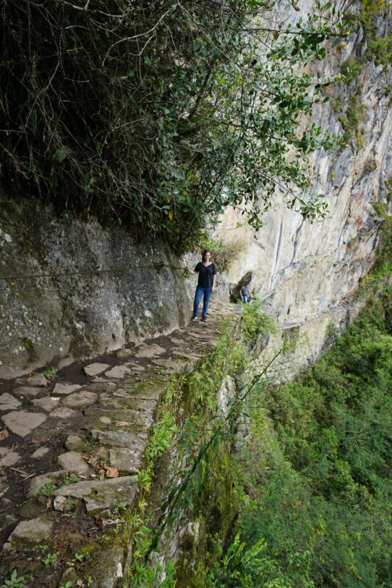 best of Machu Picchu under one day Inca Bridge