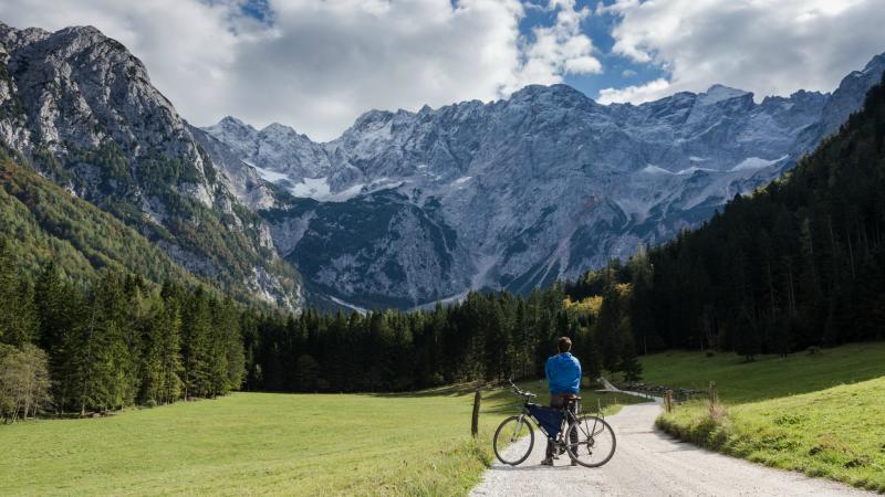 Valley in Triglav National Park, Slovenia