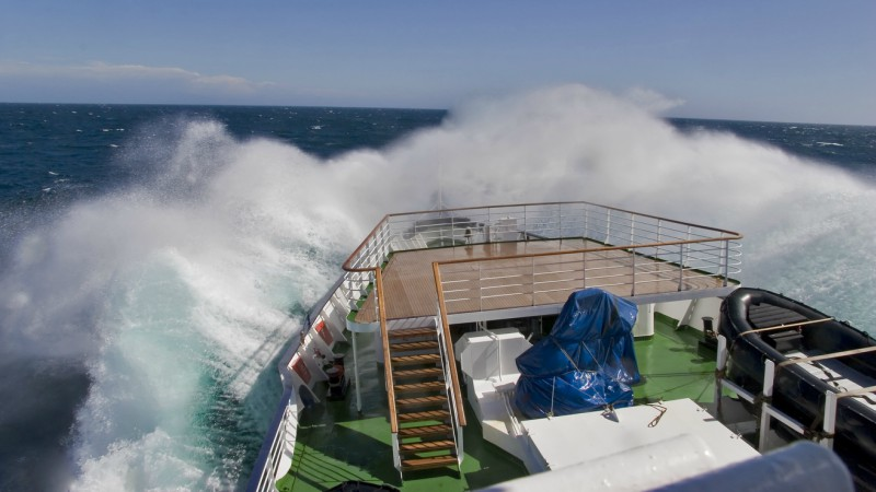 Crossing the Drake Passage, Antarctica
