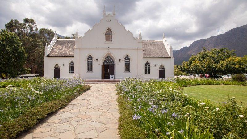 Franschoek vineyard, South Africa