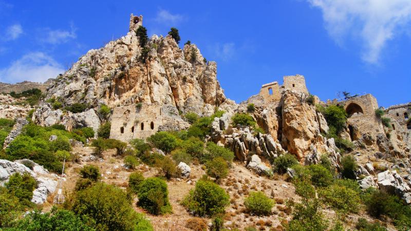 St Hilarion Castle in Cyprus