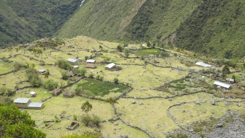 Choququirao Trek town