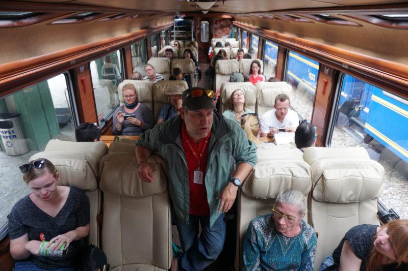 train Machu Picchu Peru