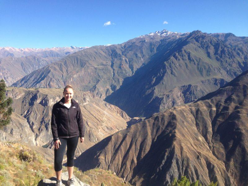 Colca Canyon Peru hiking