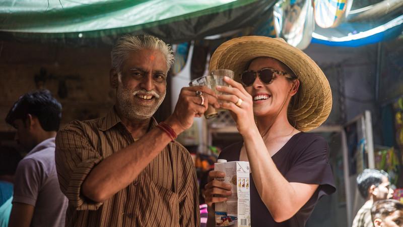 India vegan tour soy chai