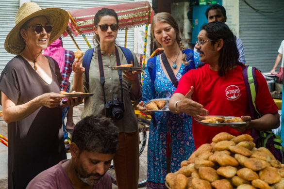 India vegan tour