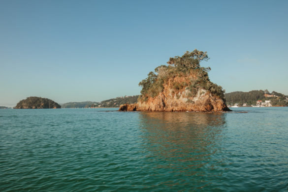 Bay of Islands rocky isle