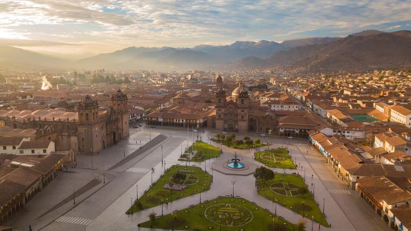 Plaza de Armas, Cusco. Peru