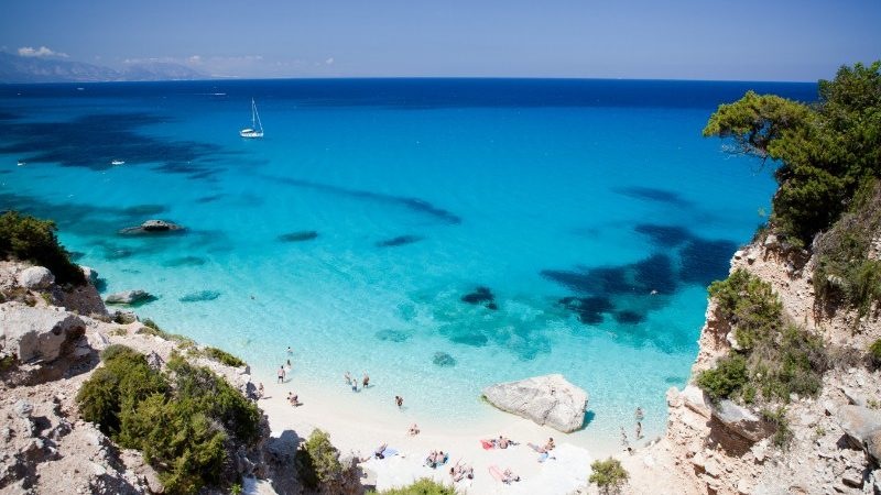 Beautiful bay in Sardinia, Italy