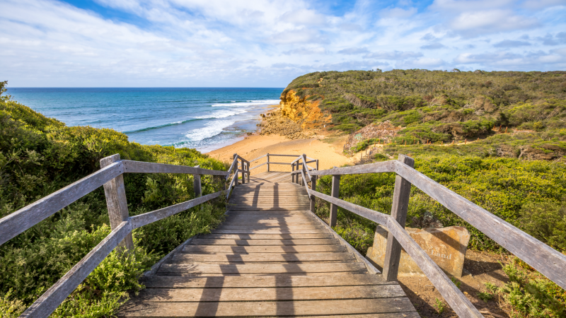 Bells Beach near Torquay, Melbourne