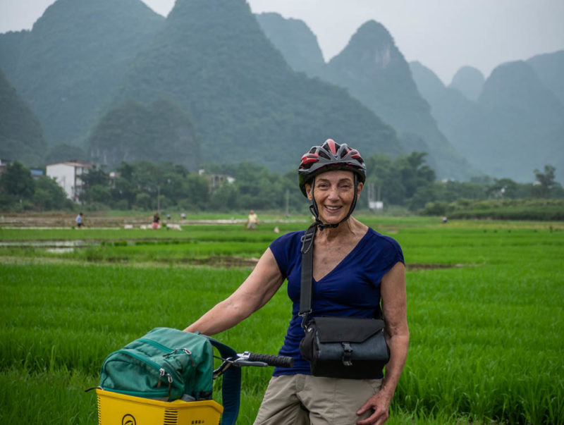 China tour solo travel cycling Yangshuo
