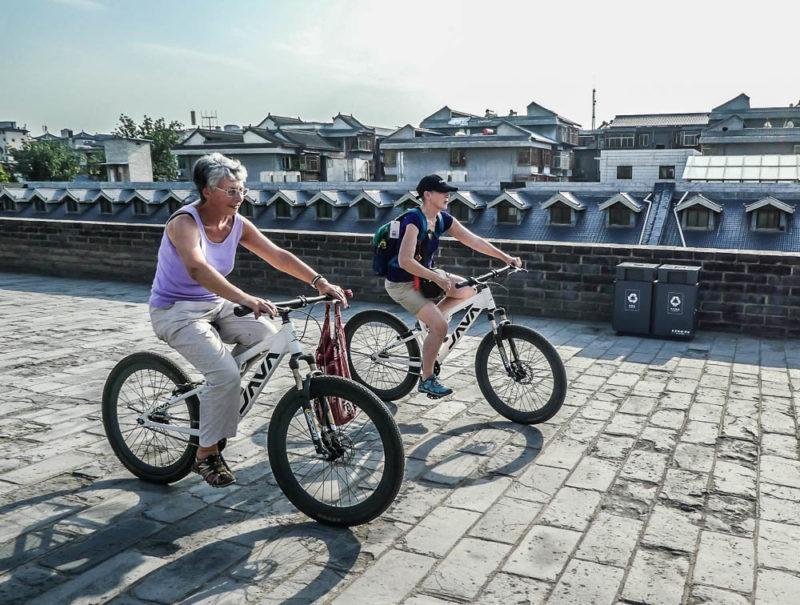 China tour cycling Xi'an