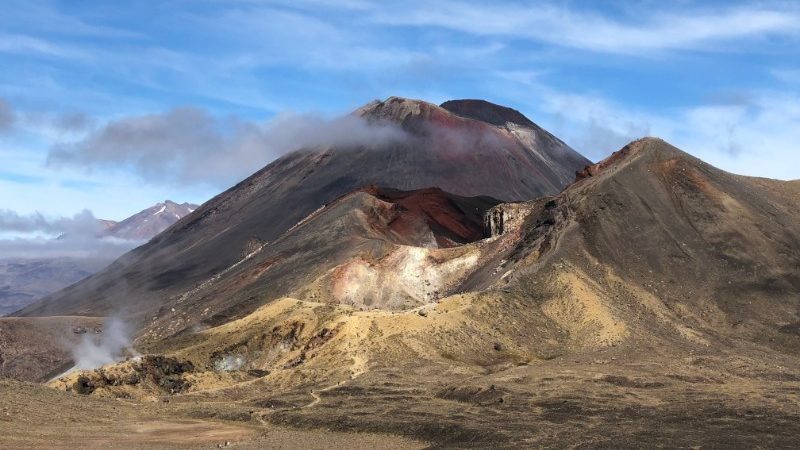 Mt Ngauruhoe aka Mt Doom, New Zealand